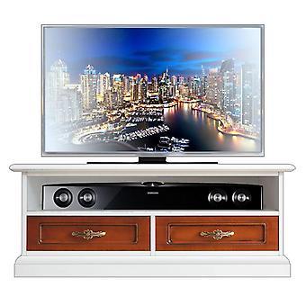 Bi-colour Tv cabinet