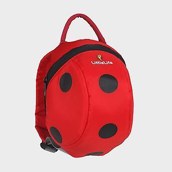 New Littlelife Toddler Pack Ladybird Bag Red