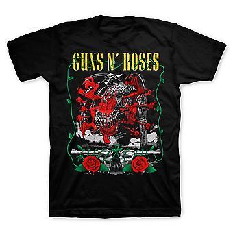 Guns n' rosas | criatura apetite e pistolas camiseta