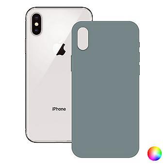 Etui iPhone X, XS KSIX myk silikon