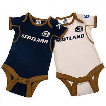 Scotland RU 2 Pack Bodysuit 3-6 Months