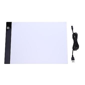 A4 Ledede Maleri Tracing Board - Kopier Pad Panel Tegning Tablet