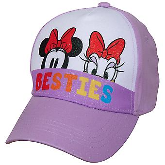 Disney Minnie Mouse and Daisy Peek-A-Boo Baseball Hat