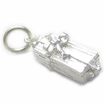 Rose i en gaveæske Åbning Sterling Silver Charm 0,925 X 1 Roses Charms - 4474
