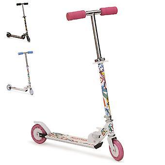 Børne scooter Magic, scooter højde justerbar, sammenklappelige, PU hjul 125 mm