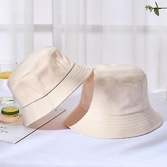 Unisex الصيف قبعة دلو قابلة للطي، في الهواء الطلق واقية من الشمس القطن الصيد، الصيد