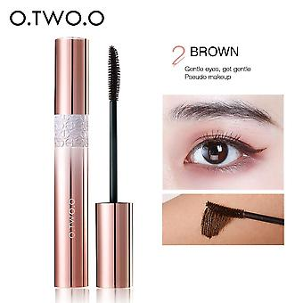 4d Volume Eyelashes Mascara Lengthening Makeup Waterproof Non Staining Eye