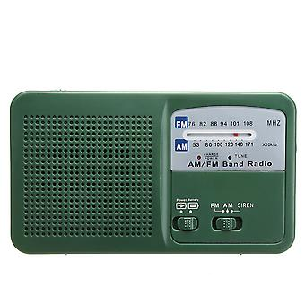 FM راديو الهاتف شاحن مصباح يدوي كرنك مكبر الصوت بالطاقة الشمسية