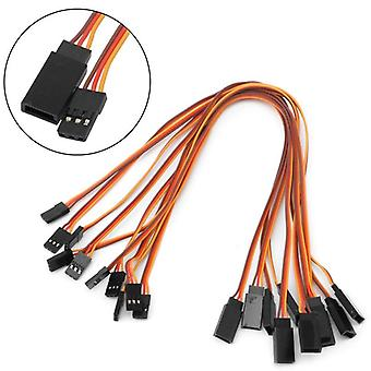 Servo Extension Cable, 3 Pin Female To Male Connector For Rc Car, Helicopter