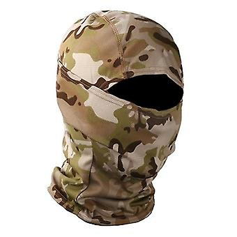 Taktisk Camouflage Balaclava Full Face Mask Wargame Hunt Shoot Army Bike