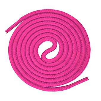 Neon Pink Round Sport Trainer Shoelaces