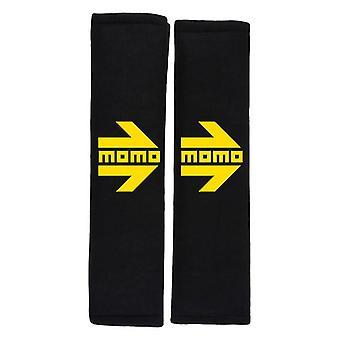 Safety Belt Pads Momo SHP001B (2 uds) Black