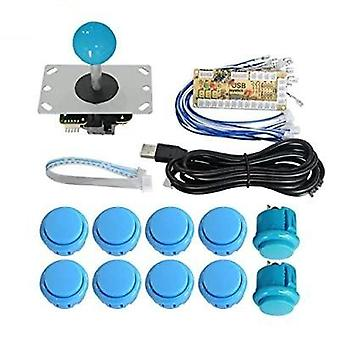 Zero Delay Usb Encoder Board, Usb Controller Pc Sanwa Joystick With Oval Ball