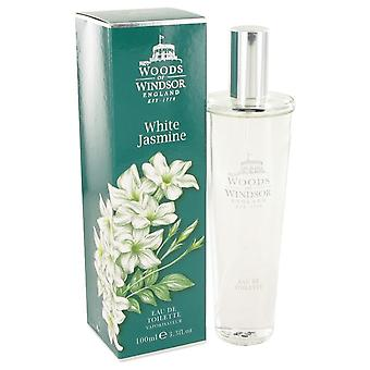 White Jasmine Eau De Toilette Spray By Woods Of Windsor 3.3 oz Eau De Toilette Spray