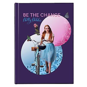 Holly Hobbie Holding Her Bike Hardback Journal