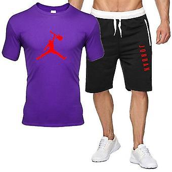 Men Outfits, T-shirt, Shorts, Summer Set, Tracksuit, Sport Jogging Sweatsuit,