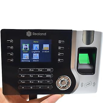 Employee Fingerprint Time Attendance Office Rfid Time Recorder Realand A-c071