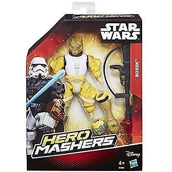 Starwars hjälte masher bossk figur