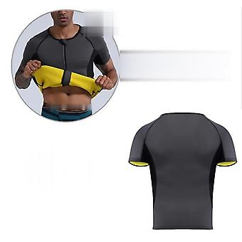 Urheilu paita body shaper laihtumiseen Vyötärö Kouluttaja Miehet Tank Top Neoprene Sauna Vest