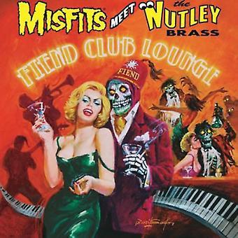 Misfits Meet the Nutley Brass - Fiend Club Lounge [Vinyl] USA import