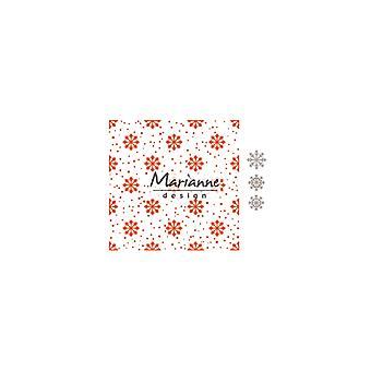 Marianne Design Folder Extra - Schnee- und Eiskristalle