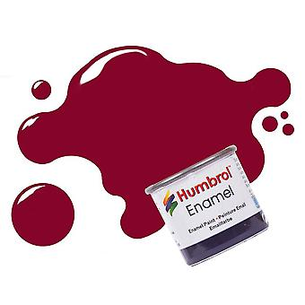 Humbrol Emaille Farbe 14ML Nr. 132 rot - Satin
