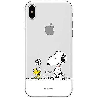 FengChun Original und offiziell lizenziertes Snoopy Handyhülle für iPhone X, iPhone XS, Fall, Hülle,