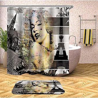 מרילין מונרו מתוך וילון מקלחת בפריז