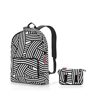 Reisenthel Mini Maxi, Unisex-Adult Hand luggage, Black/White, M