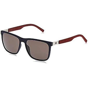 Tommy Hilfiger - TH 1445/S - Rectangular Men's Sunglasses - Rubber and Metal - 100% UV protection - Ref protective case. 0762753259929
