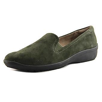 Easy Spirit Womens Santara Leather Closed Toe Loafers