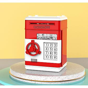 Piggy bank for kids coin money atm birthday smart password protection box cq9