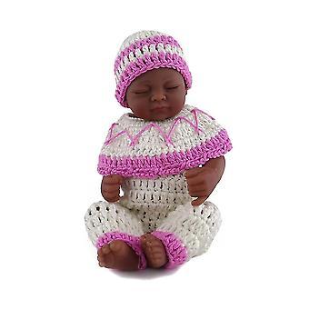 Pulóver készlet sapka 11 hüvelykes újszülött kisfiú babák pl-754