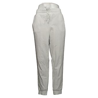 We By Living In Yellow Women's Pants Baby French Terry Jogger White 733742