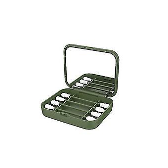 Armygreen 4pcs/box wielokrotnego użycia wacik do czyszczenia uszu kosmetycznych pąków silikonowych waciki kije z lustrem do makijażu cai975