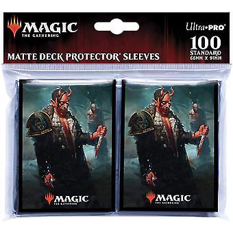 Magic The Gathering: Kaldheim featuring Tibalt, Cosmic Imposter Card Sleeves - 100 Sleeves