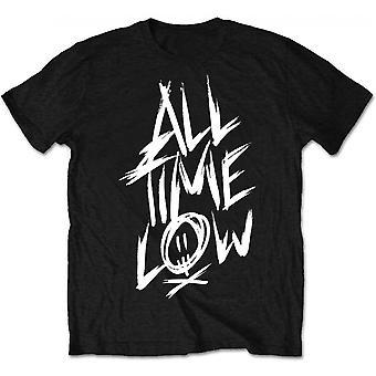 All Time Low - Scratch Men's XX-Large T-Shirt - Black