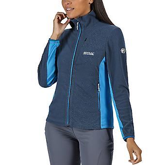 Regatta Kvinders Highton Letvægts Honeycomb Zip Up Fleece Jacket - Blå