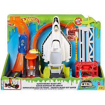 Hot Wheels Super Rocket Blast-Off, lekesett