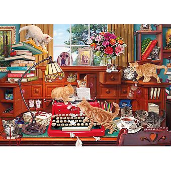 Gibsons Writer's Block Jigsaw Puzzle (1000 Pieces)