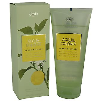 4711 ACQUA COLONIA Lemon & Ginger by 4711 Shower Gel 6.8 oz