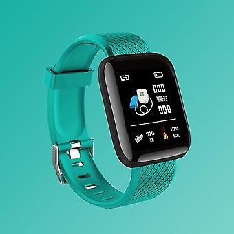 Men Smart Sport Watch, Digital Led Electronic Wristwatch(Green)