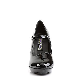 Funtasma Ropa y Accesorios > Disfraces y Accesorios > Zapatos de Vestuario > Mujeres CONTESSA-50X Blk Pat