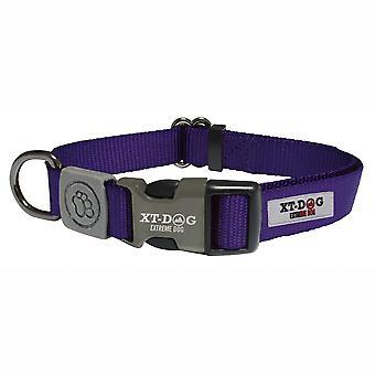 Xt-Dog Classic Nylon Collar Purple (Dogs , Collars, Leads and Harnesses , Collars)