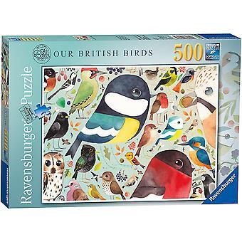 Ravensburger Våre Britiske Fugler 500 Stykke Puslespill