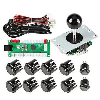 1 Player Arcade DIY Kit USB Encoder zu PC Arcade Joystick Tasten für USB Mame PC Spiel DIY &