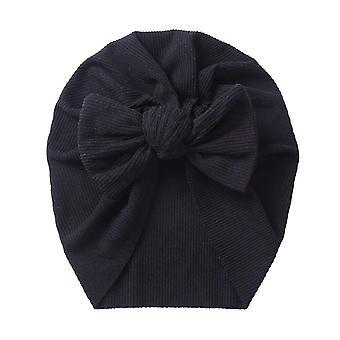 Kiinteä ribbiresori pupu solmu turbaani hatut vauvalle