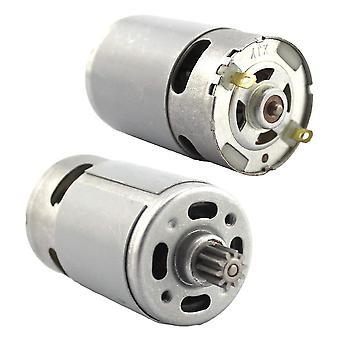 Rs550 Motor 9/12 Zähne Getriebe 3mm Welle für Schnurlos Ladung Bohrschrauber