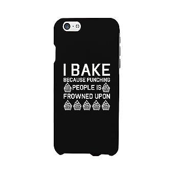 أنا خبز لأن الحالات الأسود دعم الهاتف لطيف لابل، سامسونج غالاكسي، ال جي، إتش تي سي