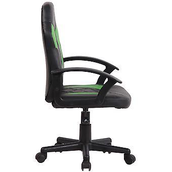 Toimistotuoli - Työpöytätuoli - Kotitoimisto - Moderni - Musta - Muovi - 55 cm x 55 cm x 90 cm